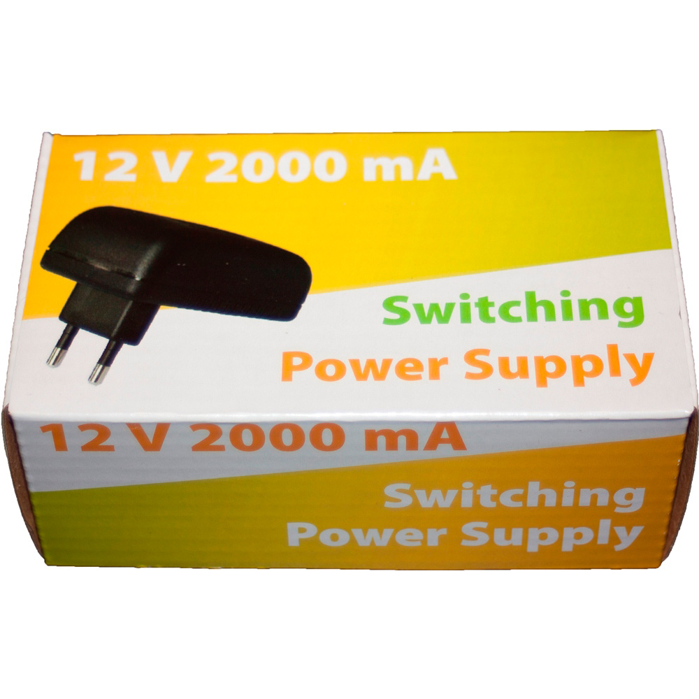 Wall power supply 12V 2A 24W