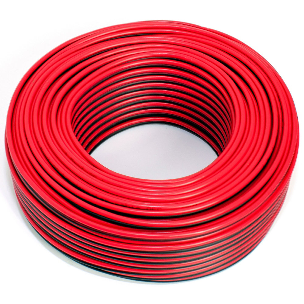 Loudspeaker cable red/black 50m 1.50mm