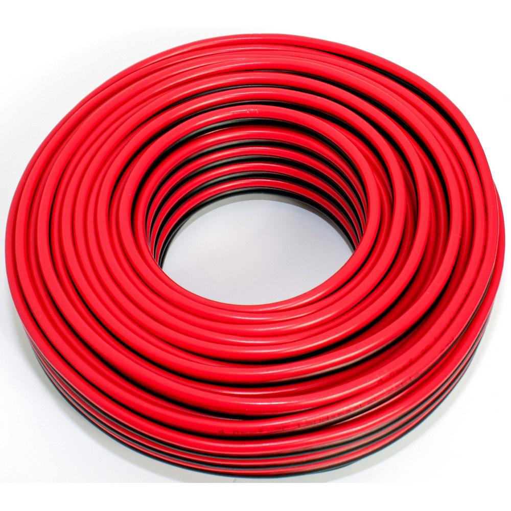 Loudspeaker cable red-black 25m 4.00mm