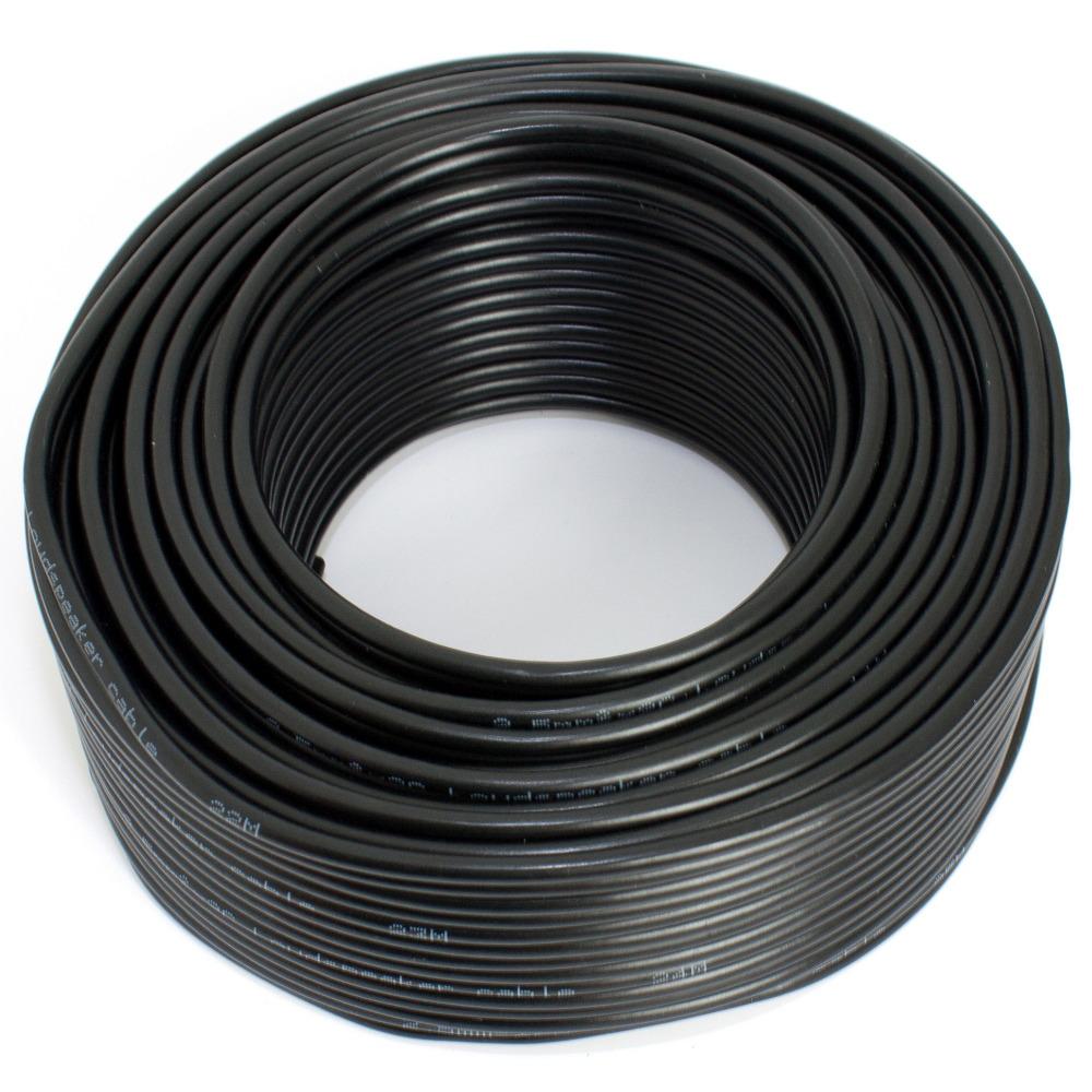 Lautsprecherkabel schwarz 25m 2,50mm Kupfer [312037] - Matrix ...