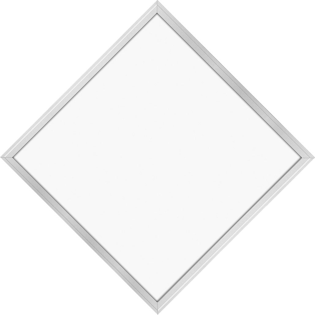 LED-Panel 62x62 45W, pure white