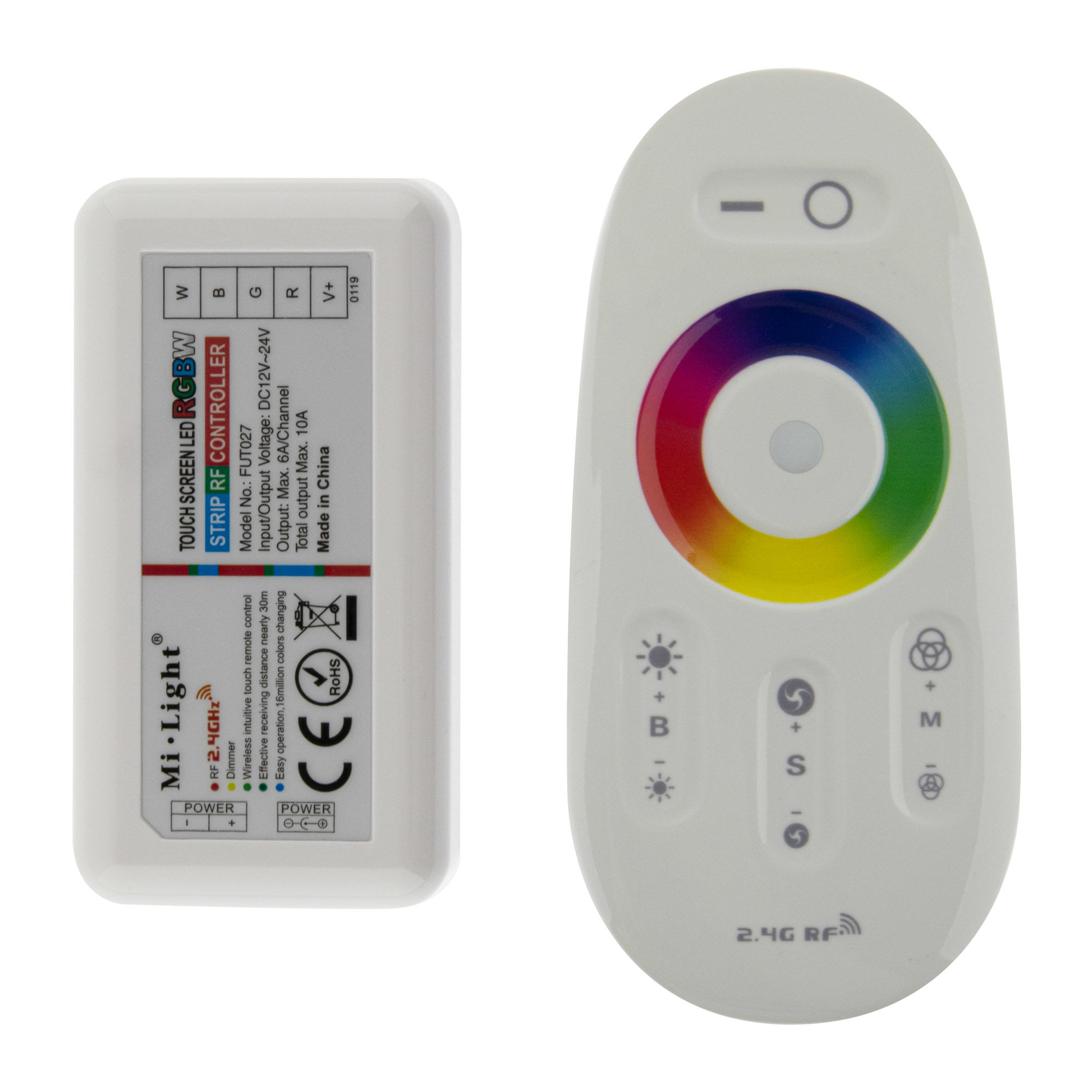 RF Touch RGBW Controller (inkl. FB)