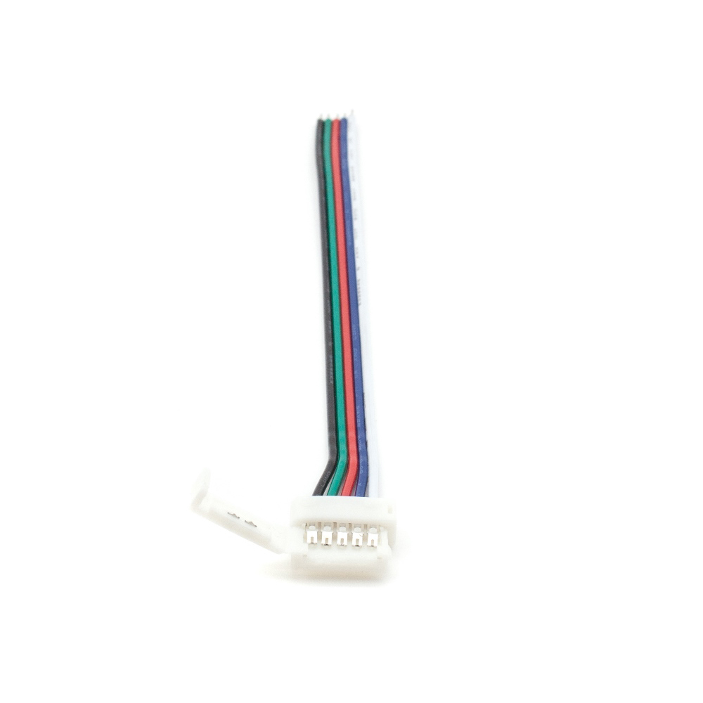 RGBW 12mm - clip connector cable