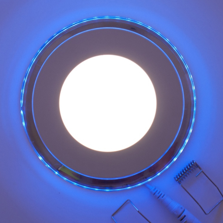led downlight blau beleuchtet 15w neutralweiss 312618 matrix handels gmbh webshop. Black Bedroom Furniture Sets. Home Design Ideas