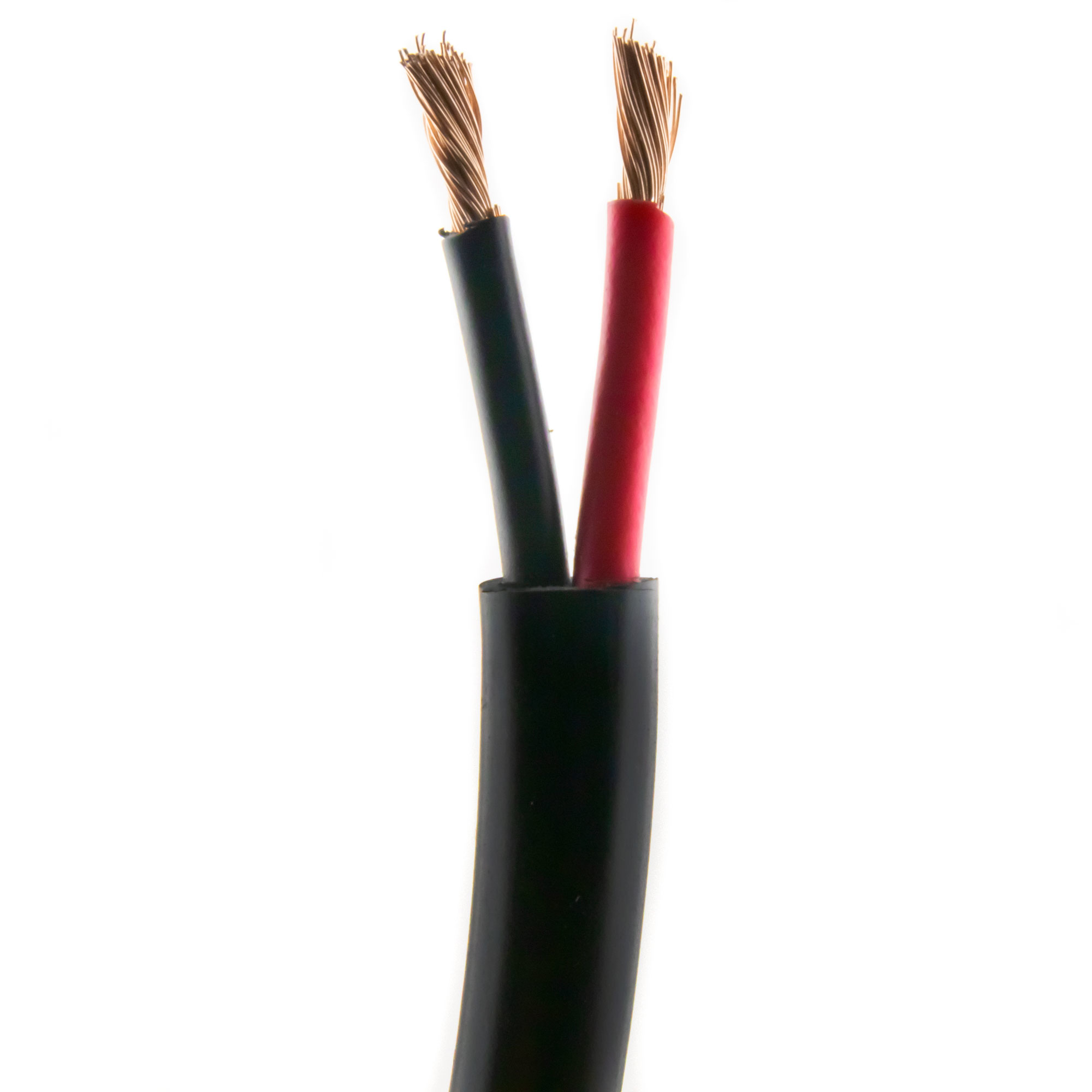 Loudspeaker cable ROUND 2,50mm, CCA, 25M, black