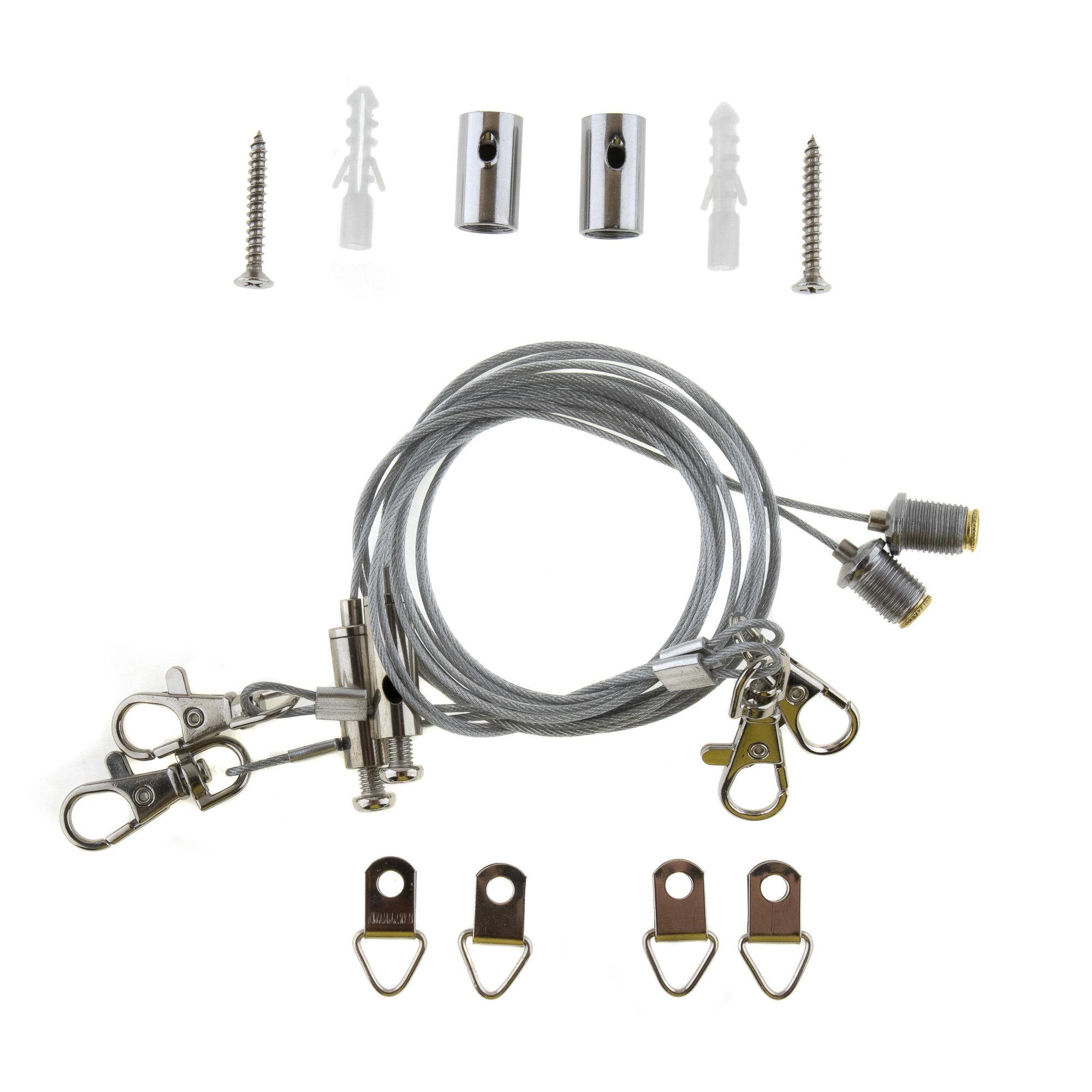 Drahtseil-Montage-Set LED-Panele [312768] - Matrix Handels GmbH ...