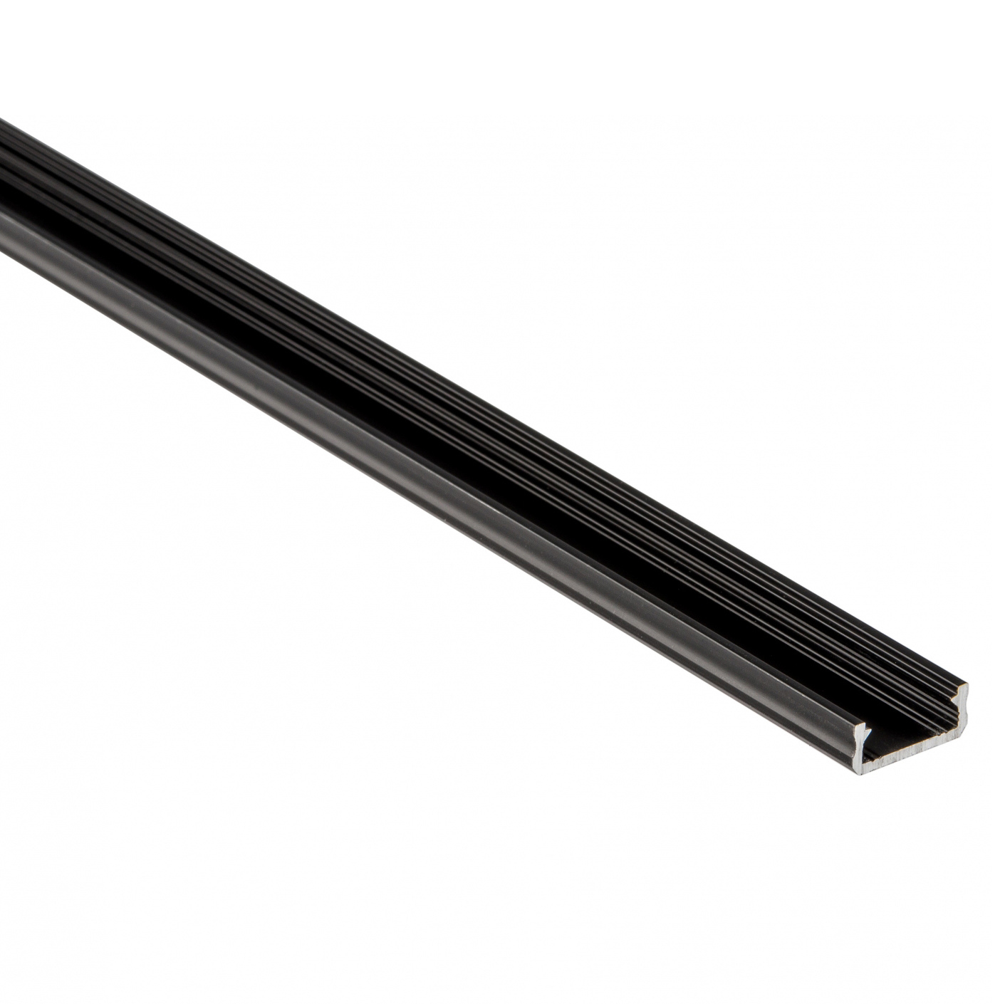 LED-Flat-Profile 1.0m black