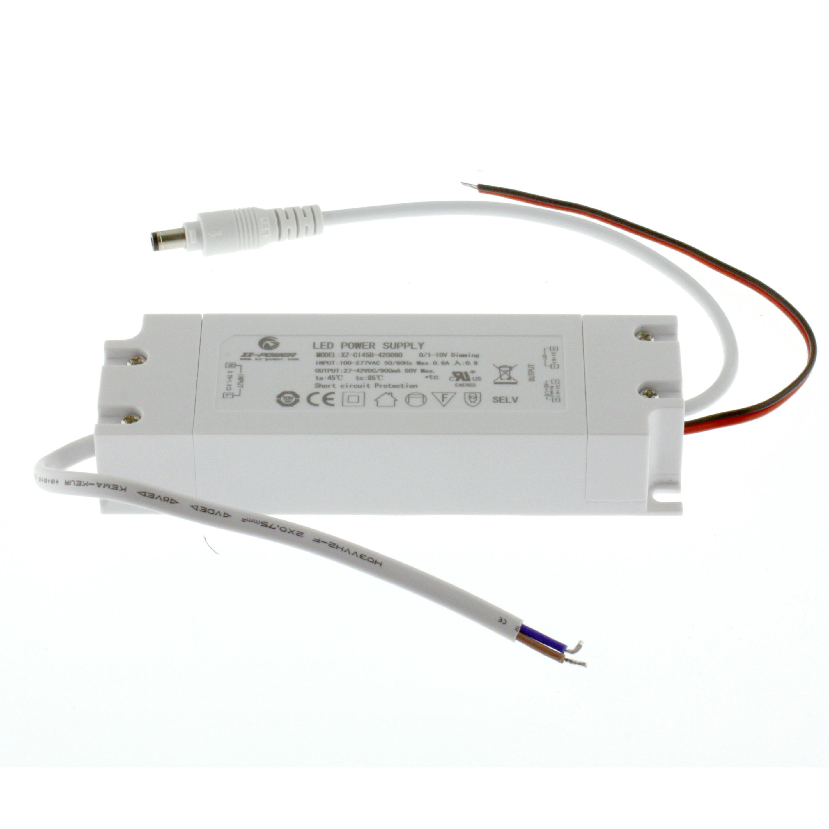0-10V dimmer for 40W led panels