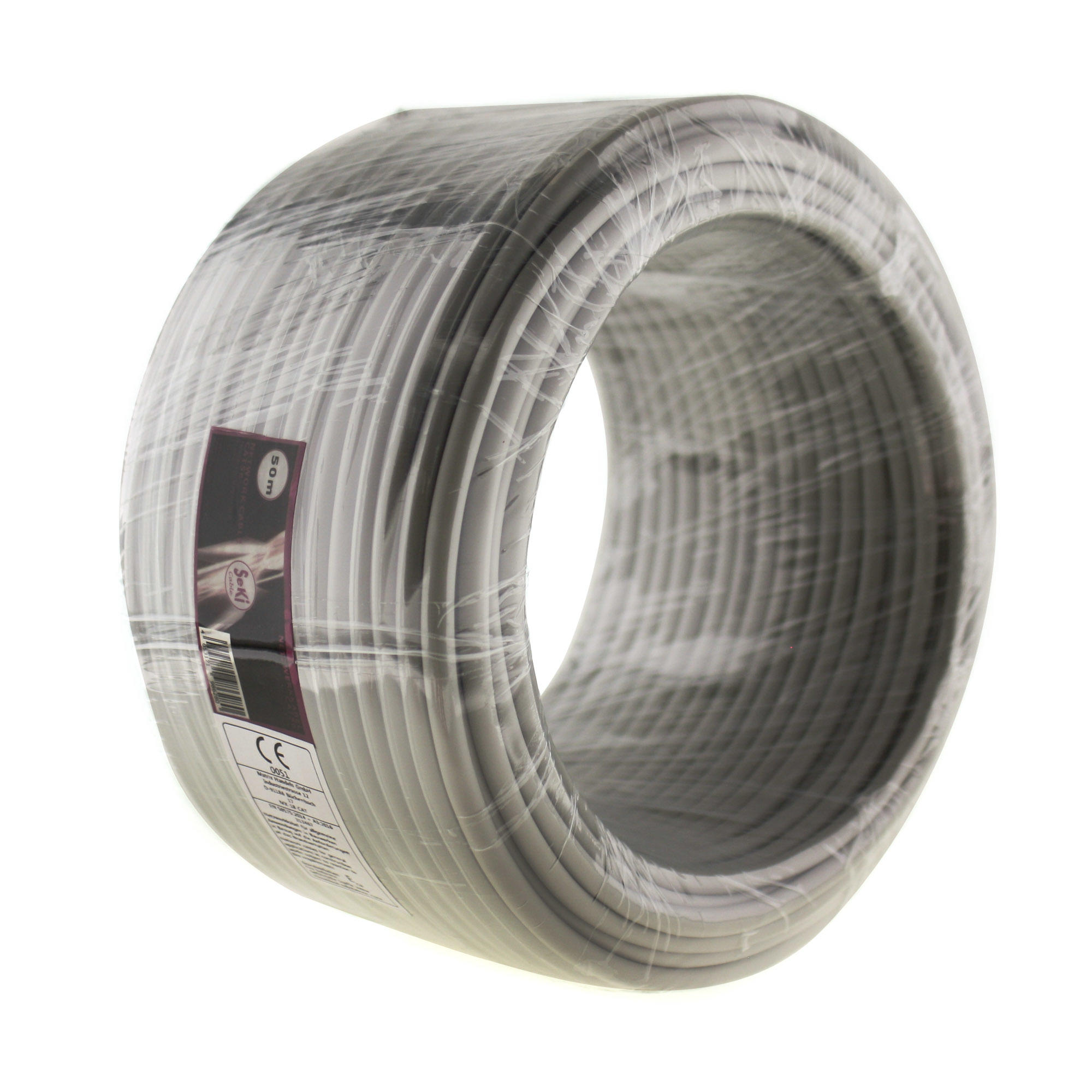 Network cable for installation Cat. 5e, 50m