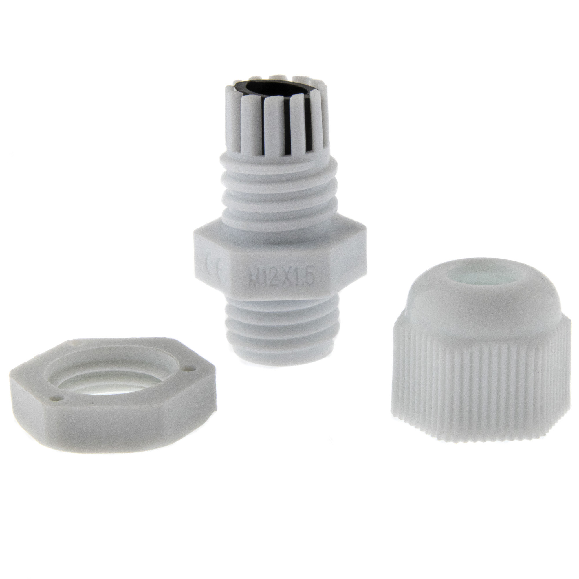 Cable gland M12 - grey