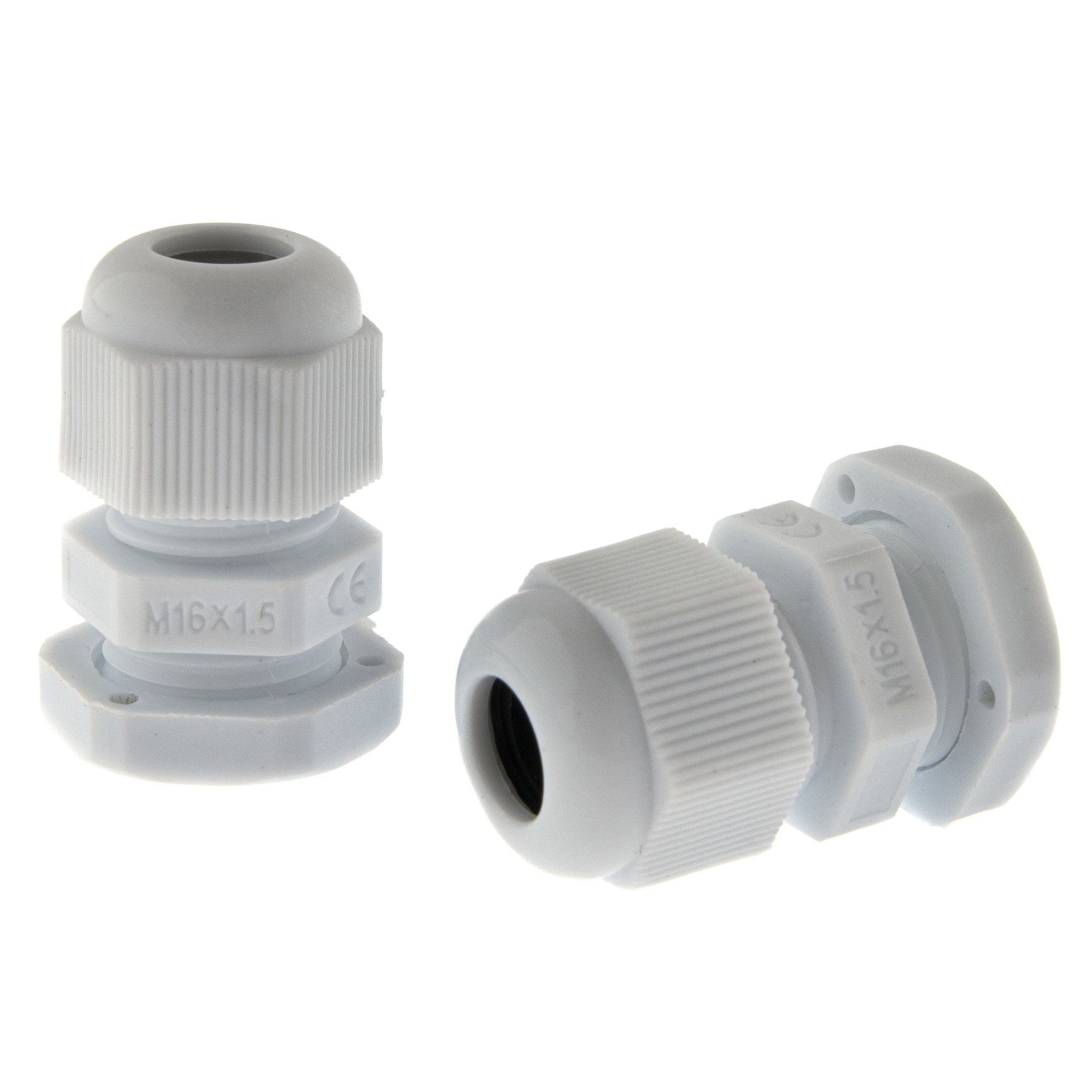 Cable gland M16 - grey
