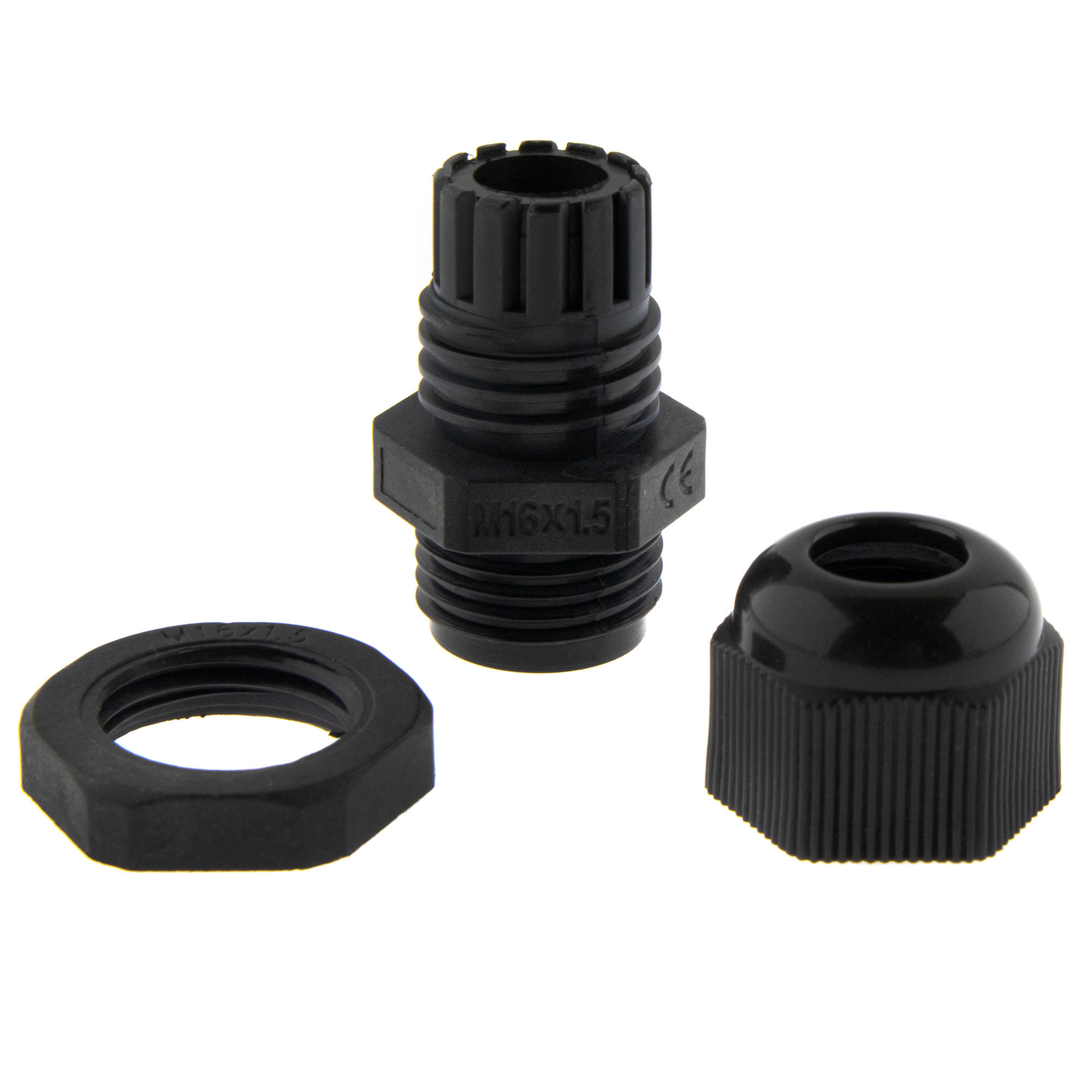 Cable gland M16 - black