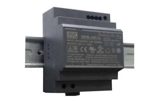 DIN rail power supply HDR-100-24 3.83A 24V 92W