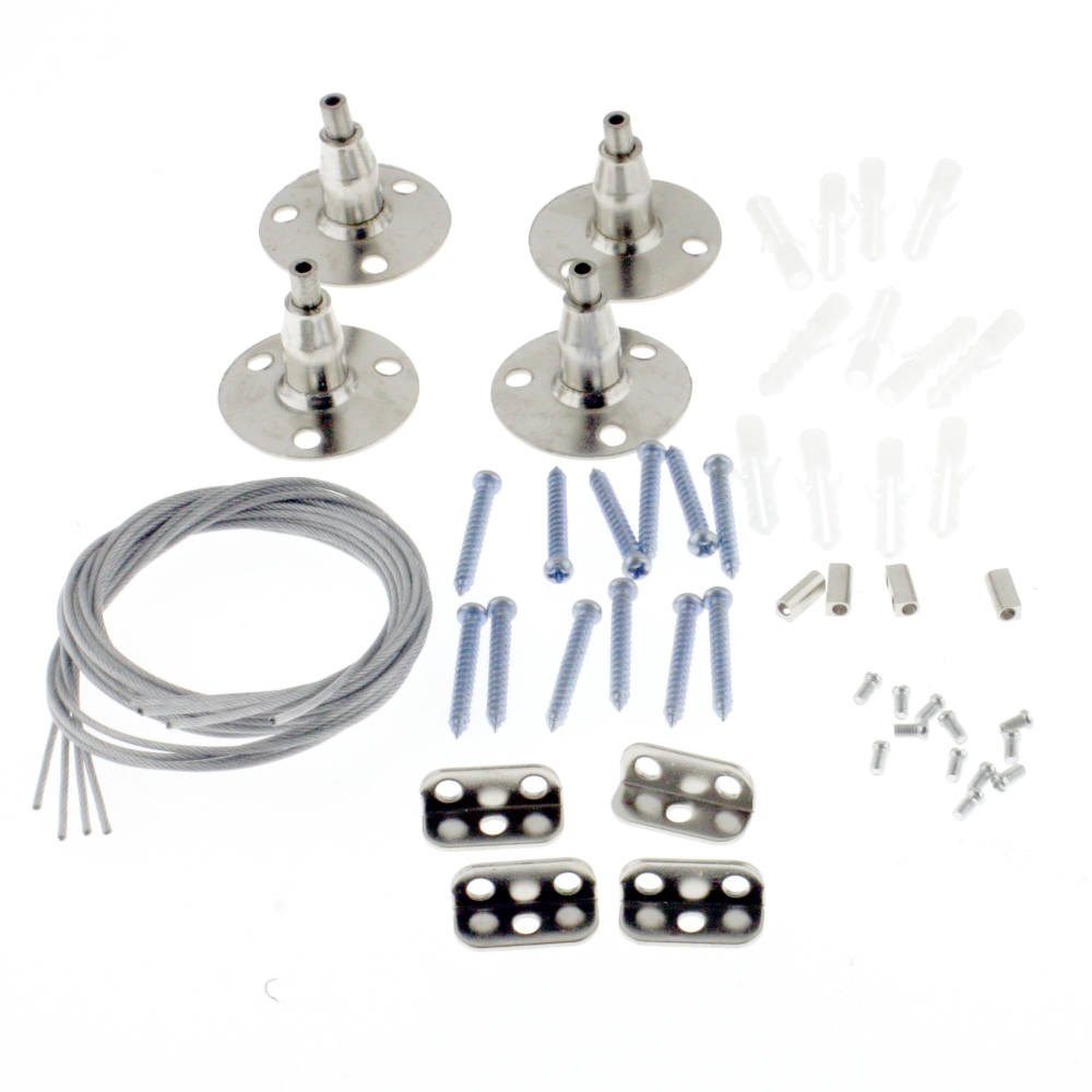 Ceiling suspension set